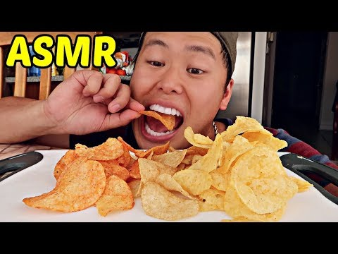 ASMR Eating Chips Mukbang ( *EXTREME CRUNCH Eating Sounds* ) WATCH THIS IF YOU'RE HUNGRY!!!