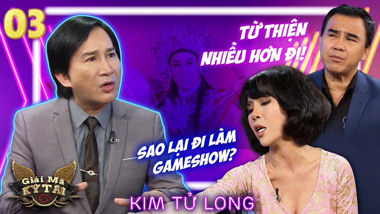 NSƯT Kim Tử Long chịu lỗ hàng tỷ đồng để nhân viên có miếng cơm manh áo   Giải Mã Kỳ Tài   Tập 3