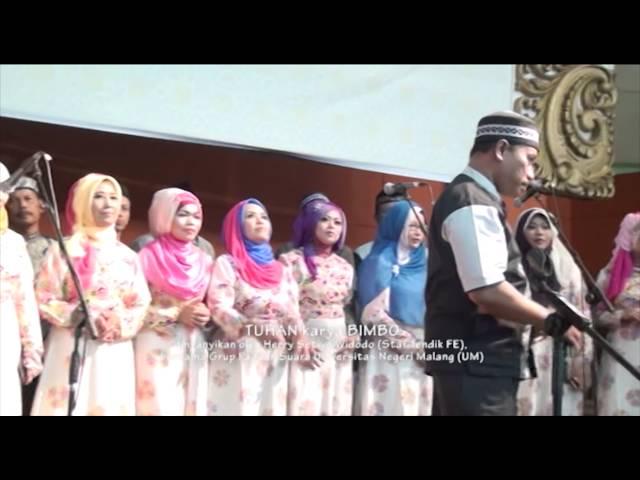 TUHAN karya BIMBO dinyanyikan oleh Herry Setiyo Widodo bersama Grup Paduan Suara UM