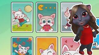 Моя Говорящая Анджела #13 Вечеринка у Анджелы +Том и друзья игры про котиков #ТОИ ЧОИ