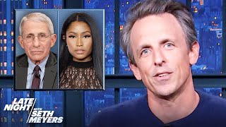 Fauci Disputes Nicki Minaj's Claim that Her Cousin's Friend Became Impotent After Vaccine