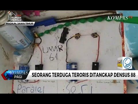 Seorang Terduga Teroris Ditangkap Densus 88