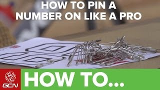How To Pin Your Race Number