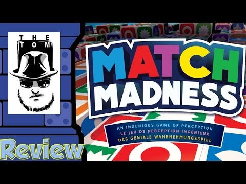Match Madness Review - with Tom Vasel