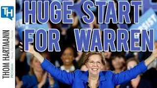 Elizabeth Warren Campaign Off to Huge Start (w/ Art Cullen) 2019
