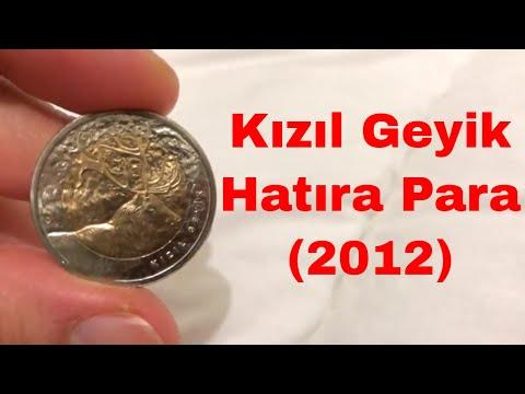Kızıl Geyik Hatıra Para | Türkiye'de Görülen Hayvan Türleri