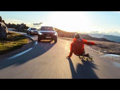 10 Close Calls Longboarding Down Mountain Roads