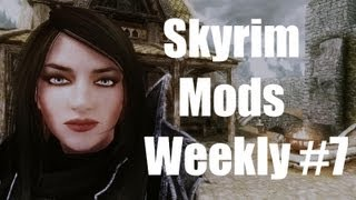 Skyrim Mods Weekly 7 - Smart Cast, Fire and Ice Overhaul, MERP Gondorian Arnament, Kitiara