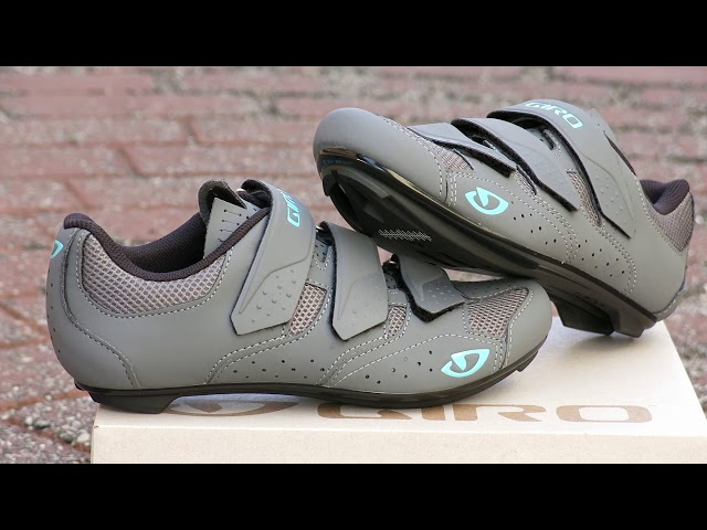 Видео Велотуфли женские Giro Techne W white/silver