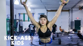 The 10-Year-Old CrossFitter Aiming For The Olympics | KICK-ASS KIDS