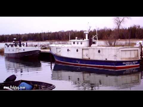 Great Lakes Commercial Fishing Ports Part 02  http://www.fishtug.com
