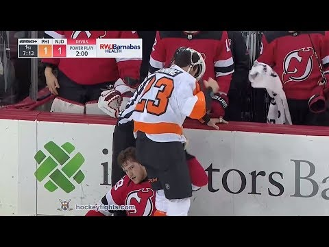 Damon Severson vs. Brandon Manning