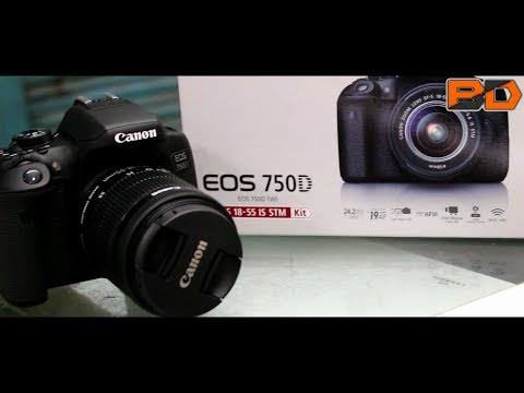 Unboxing Canon EOS 750D and hands on |FEATURES| INDIA - HINDI