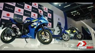 Suzuki Gixxer & Gixxer SF Fi : First Look : PowerDrift
