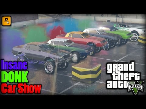 "GTA 5 | Insane ""DONK"" Car Show"