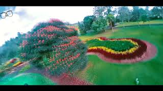 FPV Freestyle at Beautiful Garden