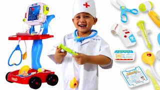 Kid pretend play doctor - Doctor Set Toys for Kids