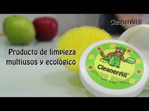 CleanerAll® producto de limpieza multiusos y ecológico