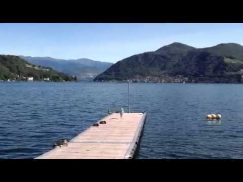 Il lago di Lugano da Porto Ceresio