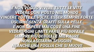 Elisa, Carl Brave   Vivere Tutte Le Vite (Testo Con Audio E Lyrics Video)