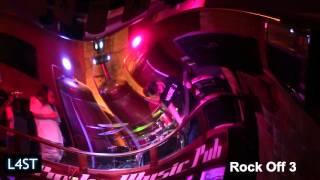 Video L4ST - Rock Off 3 - 2016, Popka Music Pub Košice, Projekt: Podpo