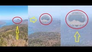 НЛО видео. Google случайно поймал НЛО в США (UFO)