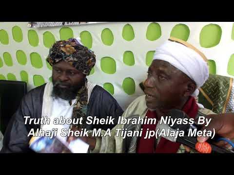 Fact /Truth about Sheikh Ibrahim Niyass,By Sheikh Muritala Tijani jp(Alajameta)