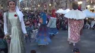 preview picture of video 'La cultura popular a Figueres amb la primera Populària'