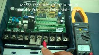 How To Check Trouble Shooting:Variable Frequency Drive