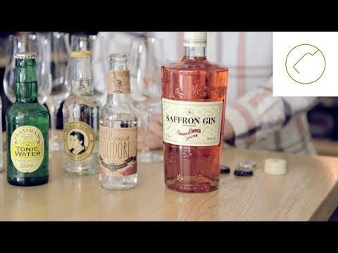 Welches Tonic zu Saffron Gin   Delicious Berlin