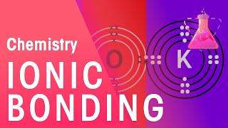 Ionic Bonding of Lithium Fluoride & Potassium Oxide | Properties of Matter | Chemistry | FuseSchool