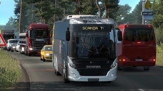 Bus Scania Touring Nueva Versión | ETS2 MODS