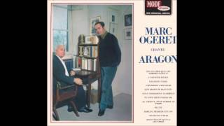 Est ce ainsi que les hommes vivent  - Marc Ogeret (Aragon)