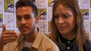 Chris Wood Reveals Kissing Tips With Melissa Benoist & Cast Plays Supergirl Game