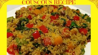 How To Cook The Perfect Couscous   Healthy Couscous Recipe
