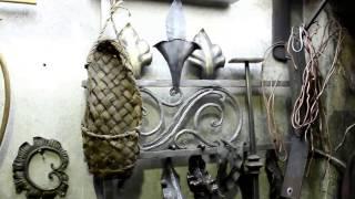 Кованый листочек из уголка.Художественная ковка.SHABALIN DESIGN