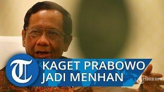 Mahfud MD Akui Sempat Prediksi Prabowo Subianto Menjadi Ketua Wantimpres