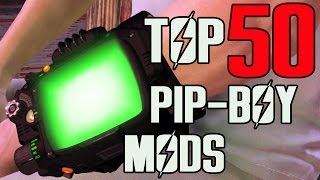FALLOUT 4 - TOP 50 PIP-BOY MODS!