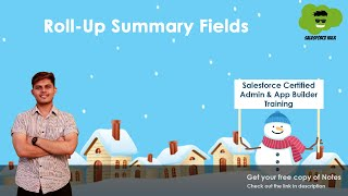 What are Roll-up Summary Fields in Salesforce? | How to create them?