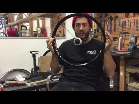 Tutorial: come raggiare una ruota con incrocio in terza - 36 fori - BMX - DINAMO CICLI