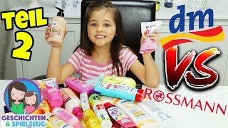 ROSSMANN vs. DM - Der große Produkte Test! MEGA HAUL! Geschichten und Spielzeug