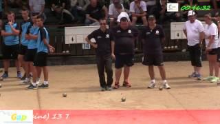 preview picture of video 'Troisième partie du 94ème Grand Prix Bouliste, Sport Boules, Gap 2014'