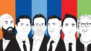 Débat des chefs en français - Élections fédérales 2019