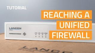 YouTube-Video Reaching a Unified Firewall