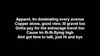 Drake Featuring Nicki Minaj- Im so Proud of You Lyrics on Screen