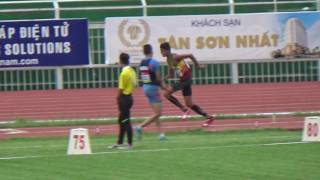 Triple jump men final  - Asian Junior 2016