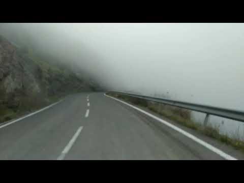 من أعالي جبال بلدية بوقرة بالبليدة الطريق الواقع بين ولاية البليدة والمدية مروراً على غابة تازارين.