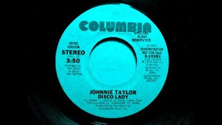 DISCO LADY - Johnnie Taylor  (1976)