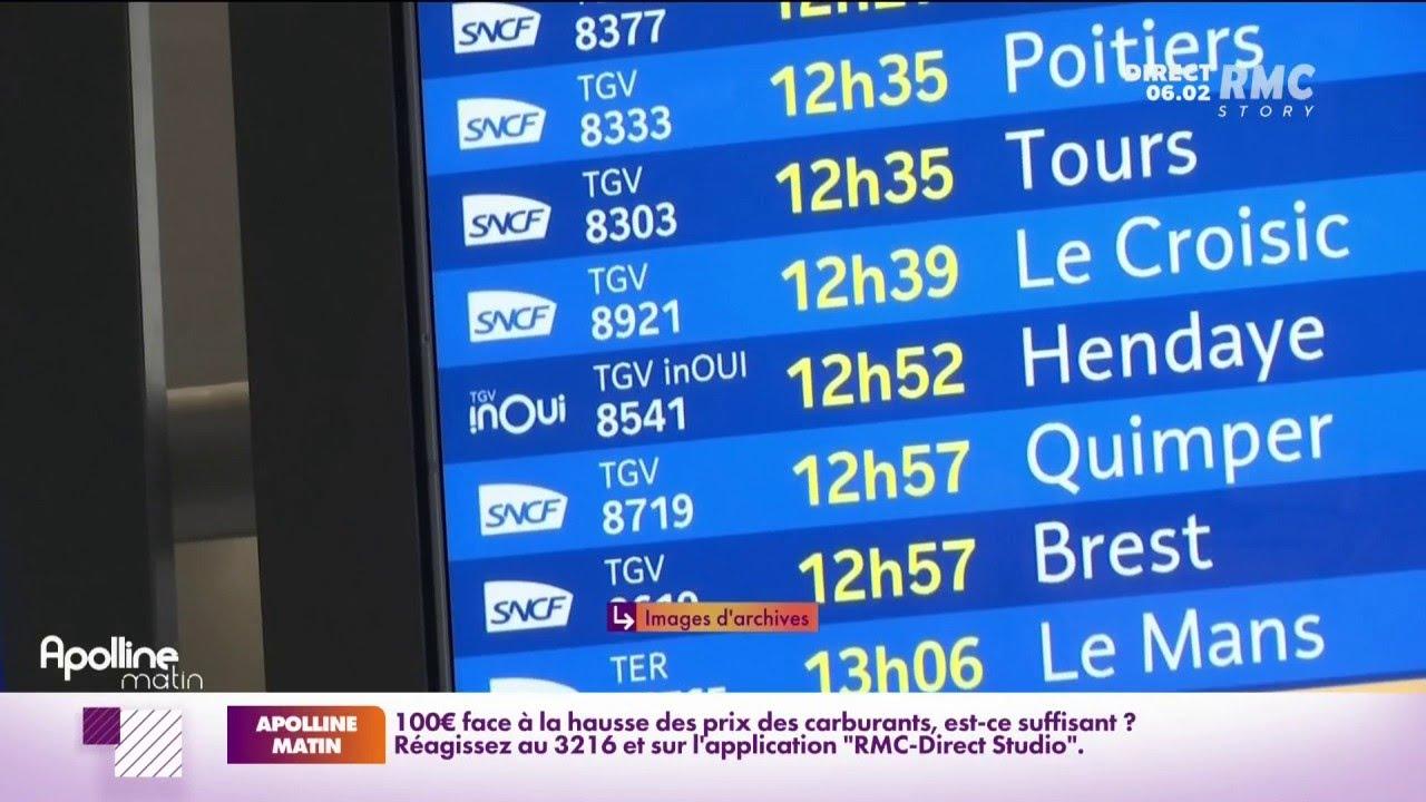Grève SNCF: 1 TGV Atlantique sur 10 annulé aujourd'hui