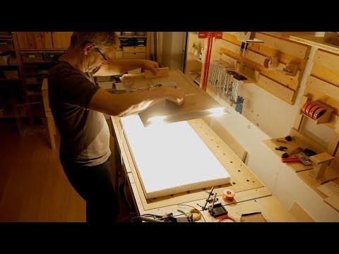 Lichtstarke LED-Deckenleuchte selber anfertigen, Teil 2: Herstellung | ZWT #18